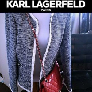 Karl Lagerfeld tweed jacket